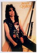 Alice Cooper - 'Locker Room' Postcard